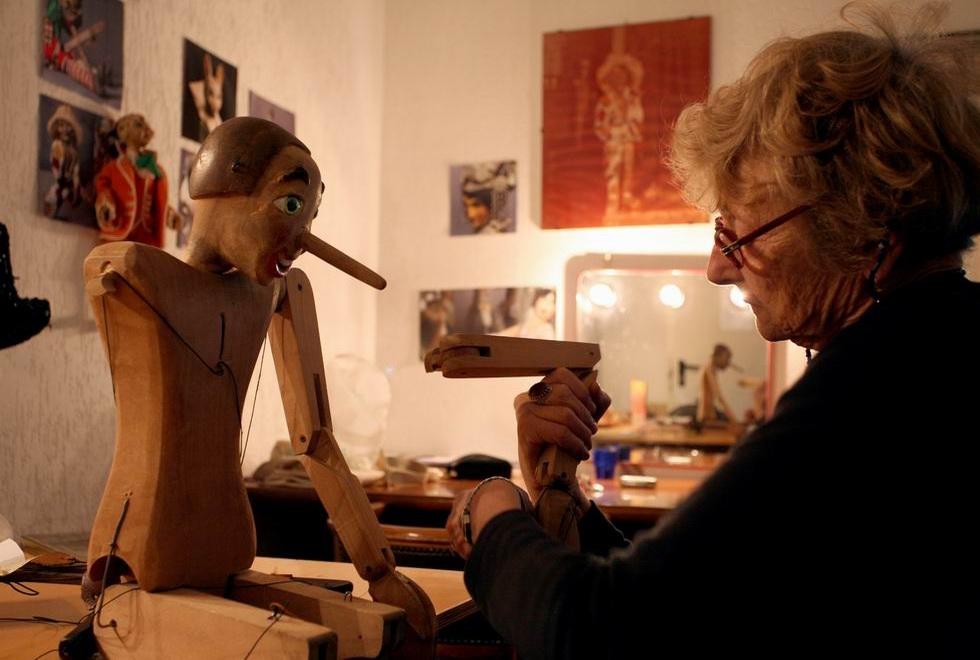 Cosetta Colla, la signora delle marionette